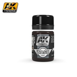 AK Interactive AK2040 WASH FOR EXHAUST 35ml