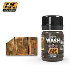 AK Interactive AK263 WASH FOR WOOD 35ml