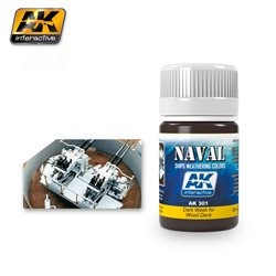 AK Interactive AK301 DARK WASH FOR WOOD DECKS 35ml