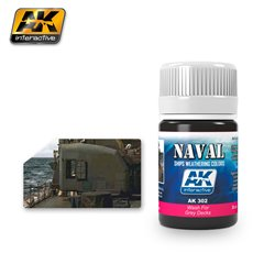 AK Interactive AK302 WASH FOR GREY DECKS 35ml
