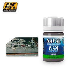 AK Interactive AK303 GREY WASH FOR KRIEGSMARINE SHIPS 35ml