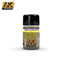 AK Interactive AK4061 SAND YELLOW DEPOSIT 35ml