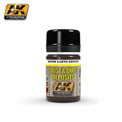 AK Interactive AK4063 BROWN EARTH DEPOSIT 35ml