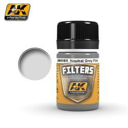 AK Interactive AK4161 NEUTRAL GREY FILTER 35ml
