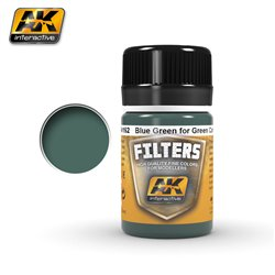 AK Interactive AK4162 LIGHT FILTER FOR GREEN VEHICLES 35ml