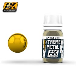 AK Interactive AK472 XTREME METAL GOLD 30ml
