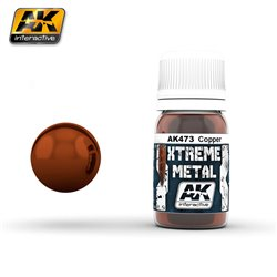 AK Interactive AK473 XTERME METAL COPPER 30ml