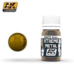 AK Interactive AK475 XTREME METAL BRASS 30ml