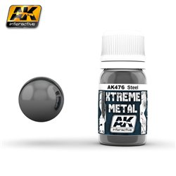 AK Interactive AK476 XTREME METAL STEEL 30ml