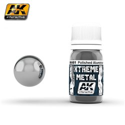 AK Interactive AK481 XTREME METAL POLISHED ALUMINIUM 30ml