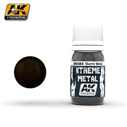 AK Interactive AK484 XTREME METAL BURNT METAL 30ml