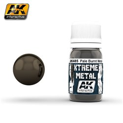 AK Interactive AK485 XTREME METAL PALE BURNT METAL 30ml