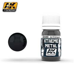 AK Interactive AK486 XTREME METAL JET EXHAUST 30ml
