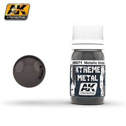 AK Interactive AK671 XTREME METAL SMOKE METALLIC 30ml