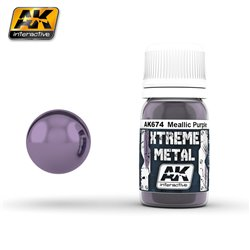 AK Interactive AK674 XTREME METAL METALLIC PURPLE 30ml