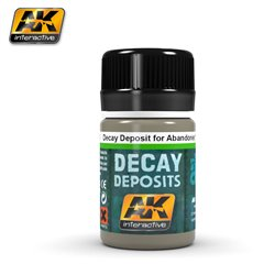 AK Interactive AK675 DECAY DEPOSIT FOR ABANDONED VEHICLES