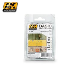 AK Interactive AK688 BASIC WEATHERING SET