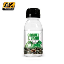 AK Interactive AK118 GRAVEL AND SAND FIXER