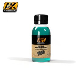 AK Interactive AK159 METAL BURNISHING FLUID 100ml