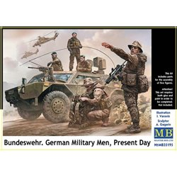 MasterBox MB35195 1/35 Bundeswehr German military man Present day