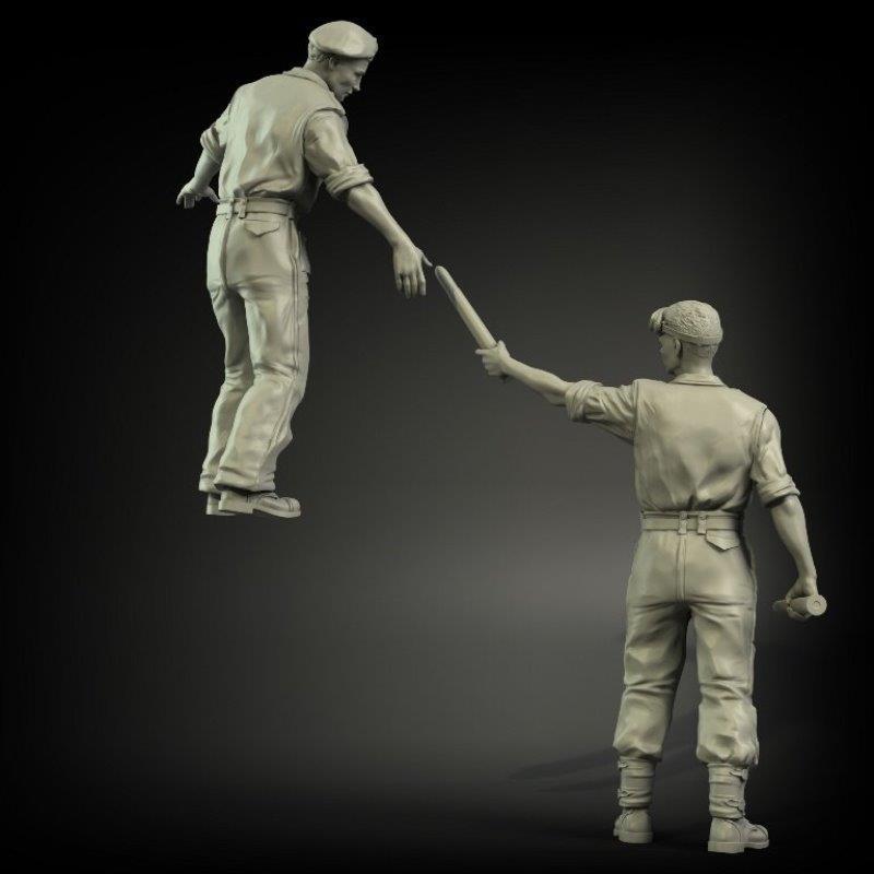 MasterBox MB35195 1/35 Bundeswehr German military man Present day