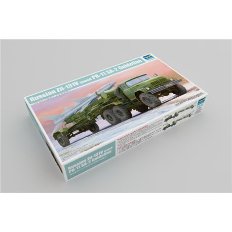 Trumpeter 01033 1/35 Russian Zil-131V towed PR-11 SA-2 Guideline