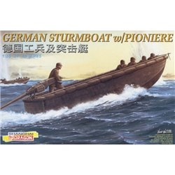 DRAGON 6108 1/35 German Sturmboat w/Pioniere