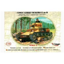 MIRAGE HOBBY 35304 1/35 Light Tank VICKERS E Mk.B