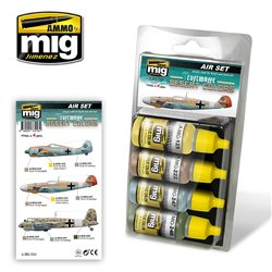 AMMO OF MIG A.MIG-7218 Luftwaffe Desert Color 4x17ml