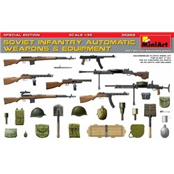 Miniart 35268 1/35 Soviet Infantry Automatic Weapons & Equipment Special Edition