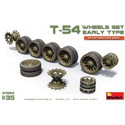 Miniart 37054 1/35 T-54 Wheel Set Early Type