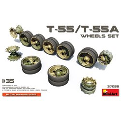 Miniart 37058 1/35 T-55 Wheels Set