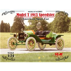 ICM 24015 1/24 Model T 1913 Speedster American Sport Car