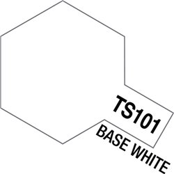 Tamiya 85101 Peinture Bombe Spray TS-101 Base Blanc – Base White 100ml