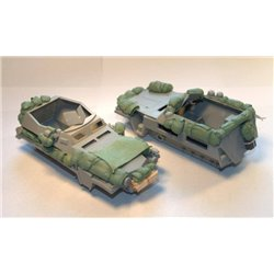 PANZER ART RE35-499 1/35 Stowage set for Sd.Kfz 250 Alt