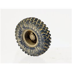 "PANZER ART RE35-514 1/35 M923 ""Big Foot"" Road wheels (Michelin XZL Pattern)"