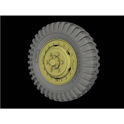 "PANZER ART RE35-524 1/35 Front Road wheels for M3 ""Half Track"" (Goodyear)"