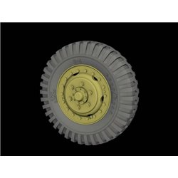 "PANZER ART RE35-525 1/35 Front Road wheels for M3 ""Half Track"" (Firestone)"