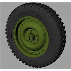 "PANZER ART RE35-527 1/35 Willys MB ""Jeep"" Road wheels (Goodyear)"