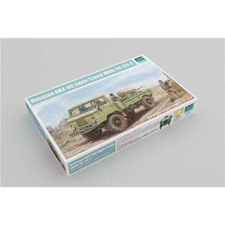 Trumpeter 01017 1/35 Russian GAZ-66 Light Truck II