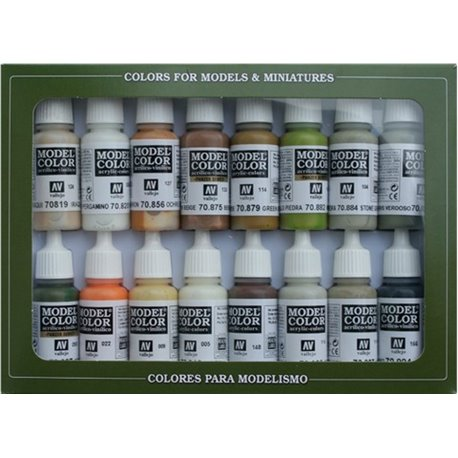 Vallejo 70.141 Earth Colors Set 16x17ml