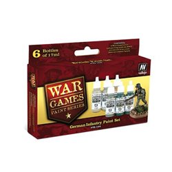Vallejo 70.154 German Infantry Paint Set 6x17ml