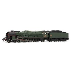 Jouef HJ2239 HO 1/87 Locomotive Vapeur 241P6 Tender 34P 271 DC SNCF Digitale Son