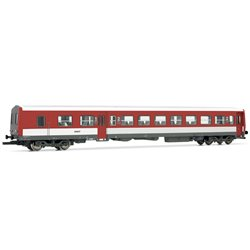 Jouef HJ4114 HO 1/87 Wagon XR 6000 Coach Red/Withe SNCF Periode IV/V