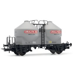 Electrotren E5492 HO 1/87 Hopper Wagon Type Uc Uralita