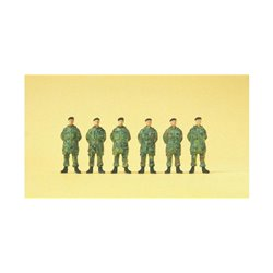 Preiser 16840 HO 1/87 Soldats Debout – Standing soldiers