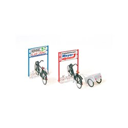 Preiser 17163 HO 1/87 Parking Vélos – Bicyclestand