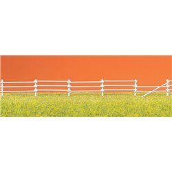 Preiser 17605 HO 1/87 Barrière de Paddock - Paddock fences. 20 x 35mm