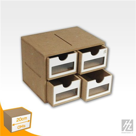 HOBBY ZONE HZ-OMS01a Drawers Module x 4