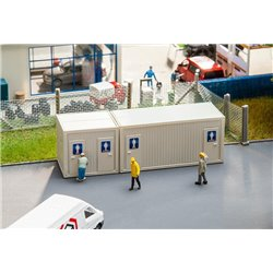 Faller 130131 HO 1/87 Conteneur sanitaire - Sanitary container